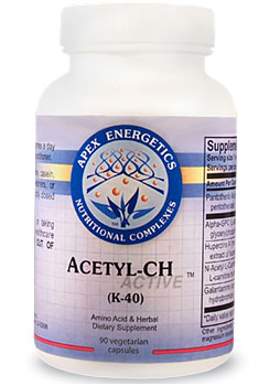Photo of Apex Energetics Acetyl-CH as found at gfchiro.com