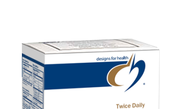 Photo of Designs for Health Twice Daily Essential Packets as found at gfchiro.com