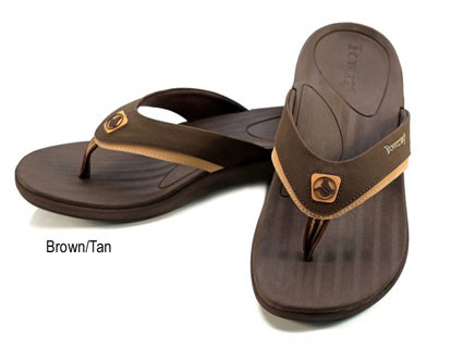 Men's FUSION Orthodic Sandals brown