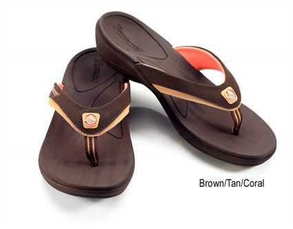 Women's FUSION Orthodic Sandals brown