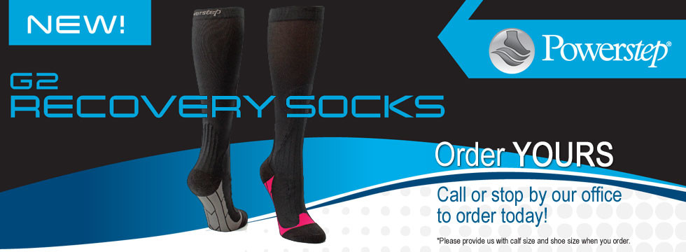 G2 Recovery Socks available at Greenbrier Family Chiropractic