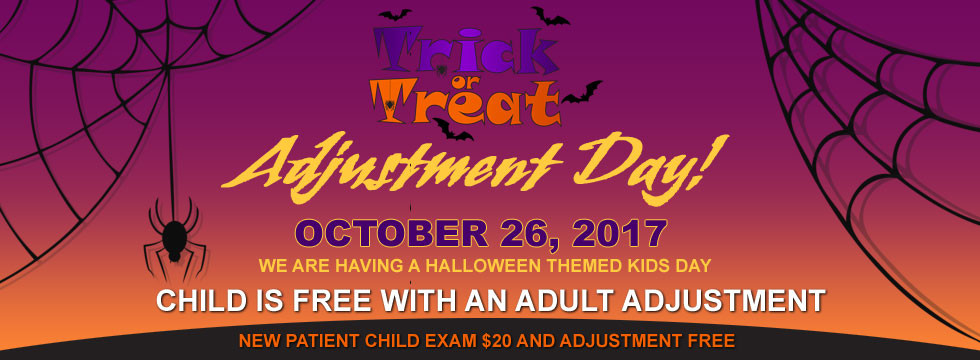 Trick or Treat Adjustment Day
